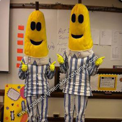 Bananas in Pyjamas DIY Costumes