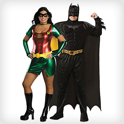 Batman and Robin Couples Costumes
