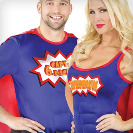 Beer-ly Heros Couples Costumes