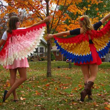 Birds of a Feather Costume Tutorial