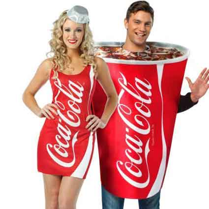 Coca-Cola Couples Costumes