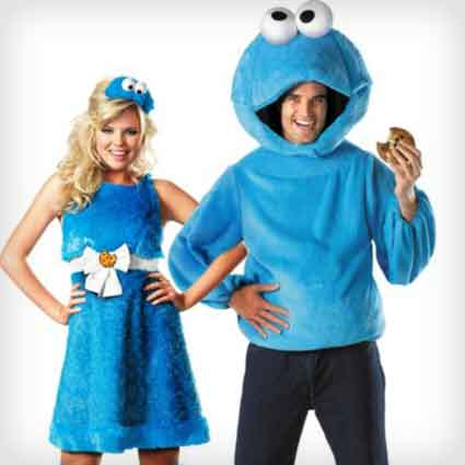 Cookie Monster Couples Costumes
