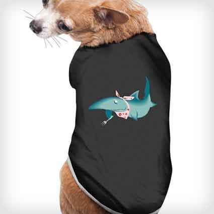 Cute Shark Dog Costume