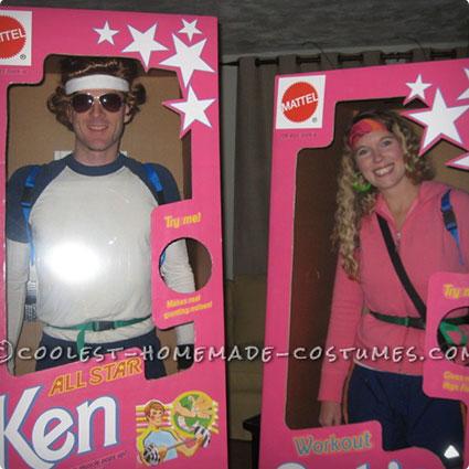 DIY Barbie and Ken Costumes