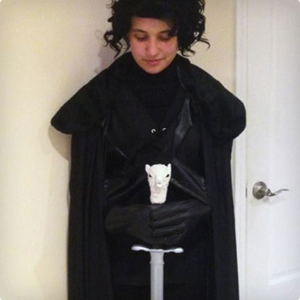 DIY Jon Snow Costume