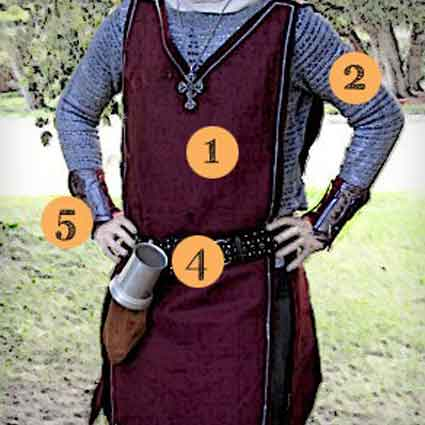 DIY Knight Costume