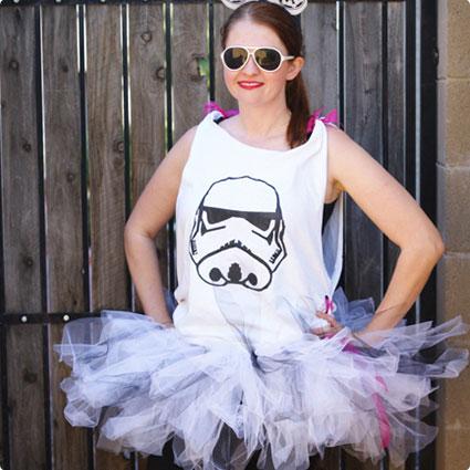 DIY Stormtrooper Tutu Costume