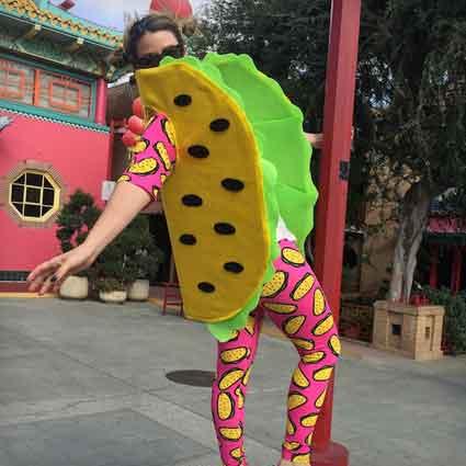 DIY Taco Costume