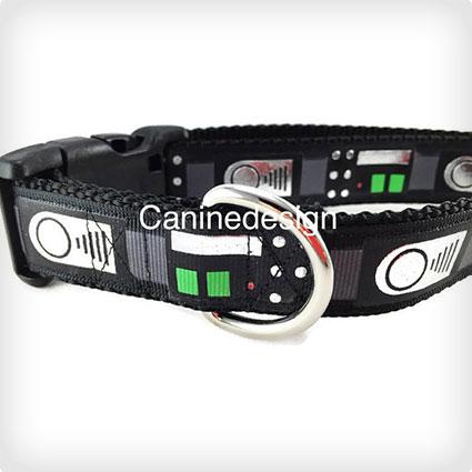 Darth Vader Dog Collar