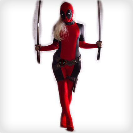 Deadpool Costume Adult Women