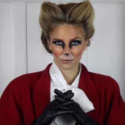 Fox Costume Makeup Tutorial