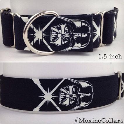 Glow in the Dark Darth Vader Dog Collar