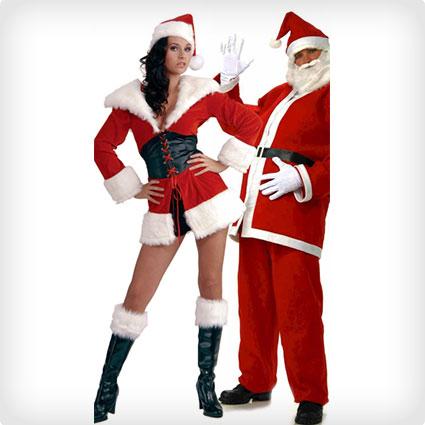 Happy Holidays Santa Costumes