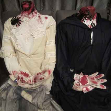 Headless Man and Woman Costumes