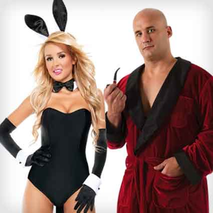 Hefner and Bunny Costumes