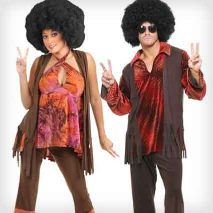 Hippies Couples Costumes