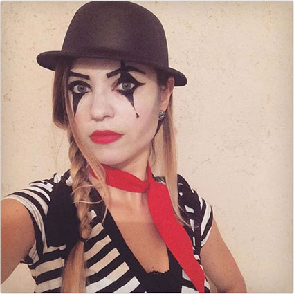 Homemade Mime Costume