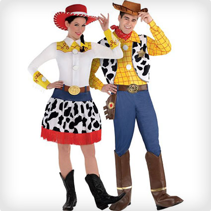 102 best halloween couples costumes of all time 50 diy ideas jessie and woody couples costumes solutioingenieria Images