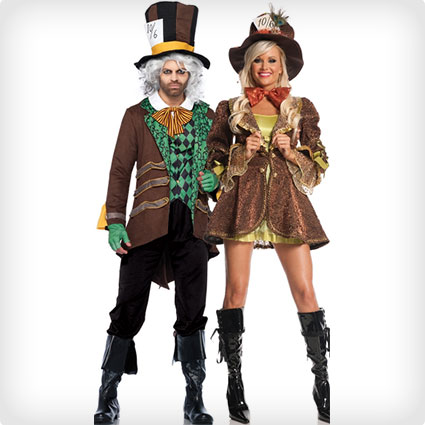 Mad Hatter Couples Costumes