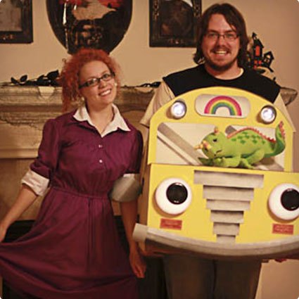 Magic School Bus and Miss Frizzle Costumes