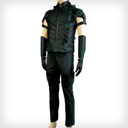 Men's Green Arrow Costume