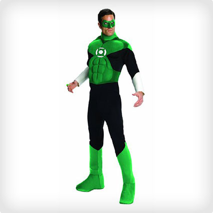 Men's Green Lantern Costume