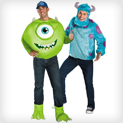 Mike and Sulley Monsters University Costumes