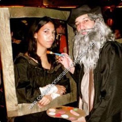 Mona Lisa and Leonardo Da Vinci Costumes