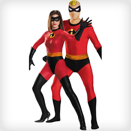 Mr. and Mrs. Incredible Couples Costumes