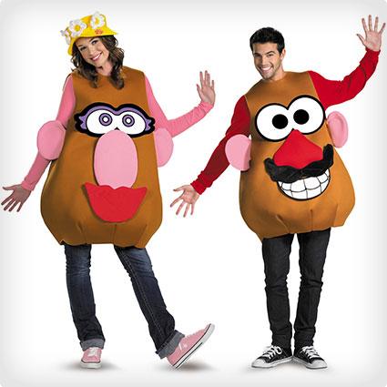 Mr. and Mrs. Potato Head Costumes