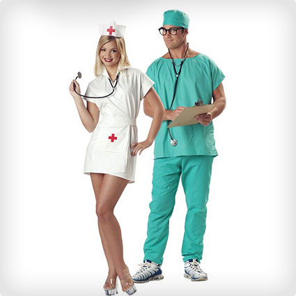 102 best halloween couples costumes of all time 50 diy ideas nurse couples costumes solutioingenieria Gallery