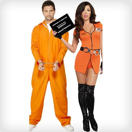 Orange Jumpsuit Prison Costumes