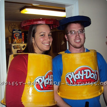 Play-Doh Costumes
