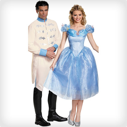 Prince Charming and Cinderella Costumes