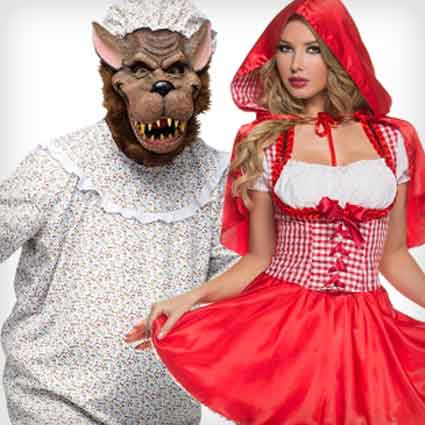 Red Riding Hood and Wolf Costumes