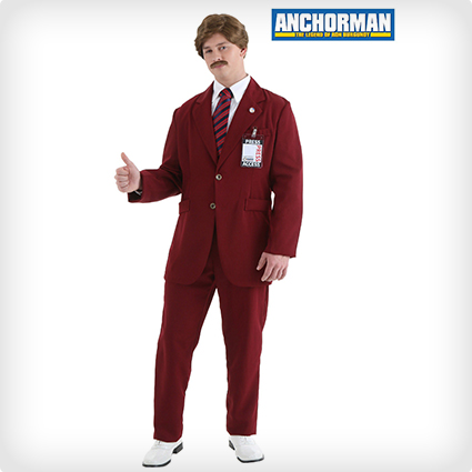Ron Burgundy Suit