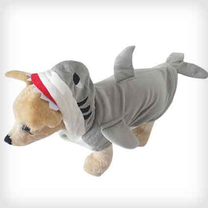 Shark Costume for Cats and Dogs