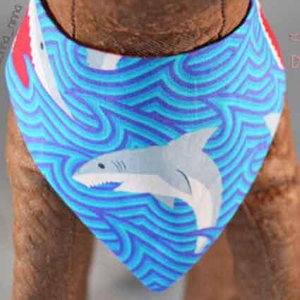 Shark Dog Bandana