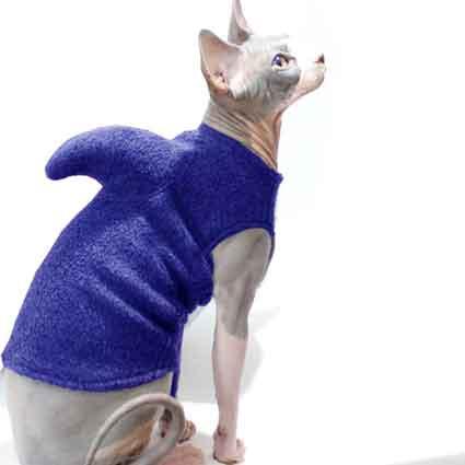Shark Week Purple Pet Sweater