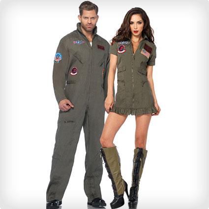 Top Gun Flight Suit Costumes