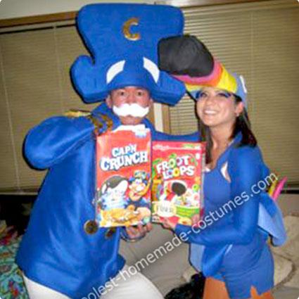 Toucan Sam and Cap'n Crunch