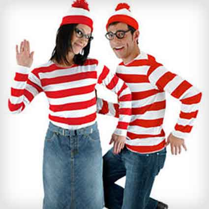 Wenda and Where's Waldo Costumes