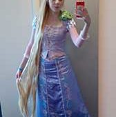 366 - DIY Rapunzel from Tangled Costume