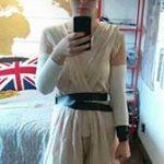 Homemade Star Wars Rey Costume
