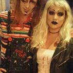Chucky and Tiffany (Bride of Chucky) Couples Costume