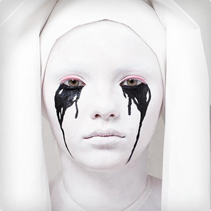 American Horror Story Weeping Nun tutorial