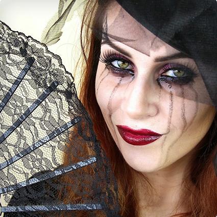 Black Widow Make Up Tutorial