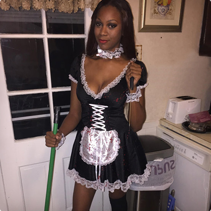 Bloody French Maid Costume