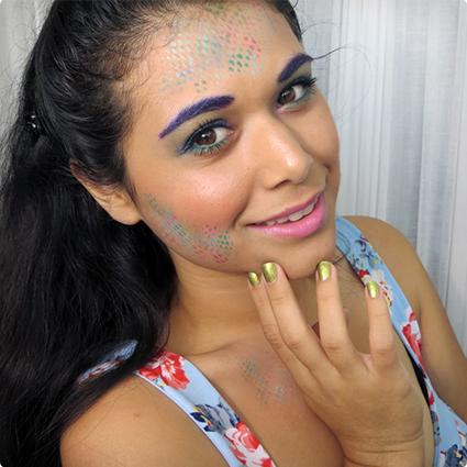 Easy Mermaid Make Up