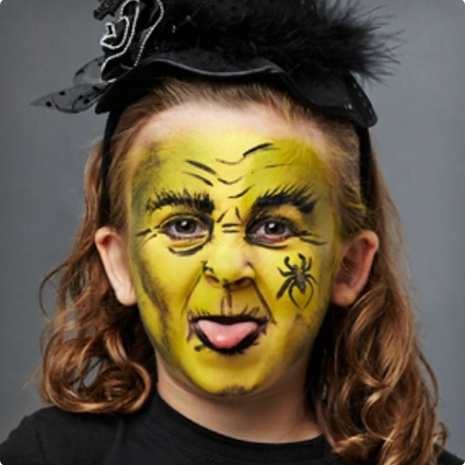 Easy Old Witch Make Up